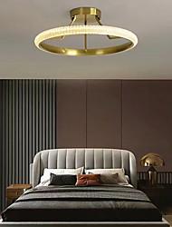 cheap -LED Ceiling Light Circle Design 45/55cm Modern Gold Desgin Flush Mount Lights Aluminum Electroplated LED 110-120V 220-240V