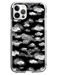 cheap -Cloud Phone Case For Apple iPhone 13 12 Pro Max 11 X XR XS Max iphone 7/8 iPhone SE 2020 Unique Design Protective Case Pattern Back Cover TPU