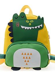 cheap -Boys' Girls' Nylon Mini Backpack Breathable Zipper Daily Black Blue Red Yellow Green