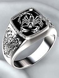 cheap -special Scorpion gothic biker 925 sterling silver turkish handmade retro men's ring (12.25)