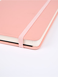 cheap -new candy-colored diary, rubber band strap, student notebook, office bookkeeping customization