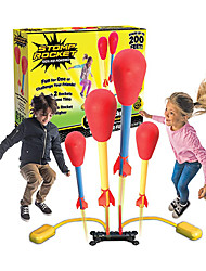 cheap -Dueling Rockets, 4 Rockets and Rocket Launcher - Outdoor Rocket Toy Gift for Boys and Girls Ages 6 Years and Up - Great for Outdoor Play with friends in the backyard & parks