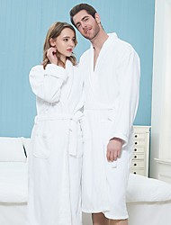 cheap -Superior Quality Bath Robe, Solid Colored Terry Cloth Bathrobe 100% Egyptian Cotton - Luxurious, Soft, Plush Durable Robe