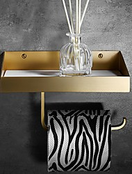 cheap -Toilet Paper Holder New Design Contemporary Brass / Special Material 1pc - Bathroom Wall Mounted