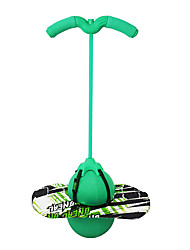 cheap -Pogo Ball with Handle,Pogo Stick Pogo Jumper Bounce Jump Trick Board Balance Board with Pump and Strong Grip Deck for Kids and Adults