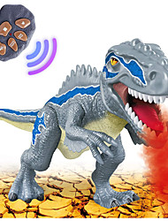 cheap -Animals Action Figure Light Up Toy Educational Toy Model Building Kit Tyrannosaurus Dinosaur Lighting Walking Electric Simulation Large Size Plastics 1 pcs Kid's Teen Party Favors, Science Gift