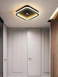 cheap -22 cm Lantern Desgin Flush Mount Lights Metal Acrylic Painted Finishes Modern 110-120V 220-240V