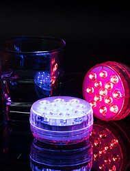 cheap -1X 4X SMD5050 IP68 Submersible Light Led For Pond Fountain Aquarium Vase Tub Bathtub Underwater Decoration Colorful Lamp With Remote Controller Dimmable Lamp