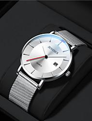cheap -Men's Dress Watch Analog Quartz Sporty Stylish Calendar / date / day / One Year / Titanium Alloy