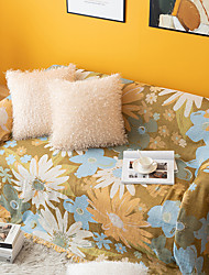 cheap -Sofa Cover Floral Printed Cotton Slipcovers