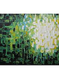 cheap -Mintura Large Size Hand Painted Abstract Color Piece Oil Painting on Canvas Modern Art Wall Pictures For Home Decoration (Rolled Canvas without Frame)
