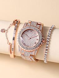 cheap -Men's Steel Band Watches Analog Quartz Stylish Chronograph Large Dial / Titanium Alloy