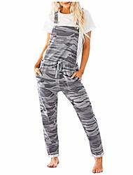 cheap -Women's Casual 2021 Photo Color Jumpsuit Solid Color
