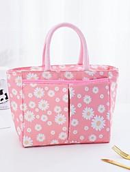 cheap -Women's Bags Oxford Cloth Polyester Top Handle Bag Lace Zipper Daily Outdoor Handbags Black Blue Blushing Pink Light Green