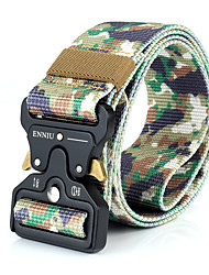 cheap -Men's Military Tactical Belt Breathable Wearable Quick Release for Solid Colored Camo Nylon Fall Spring Summer