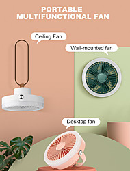 cheap -N2 Portable Fan Electric Desk Ceiling Wall Air Cooling Usb Rechargeable For Outdoor Office Live Broadcast With Ring Light Fans