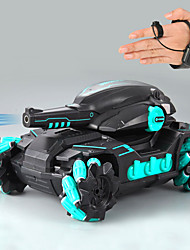 cheap -Remote Control Car RC Tank Car Waterproof with 180 Rotating Shooting & 360 Rotating Vehicle RC Monster Vehicle Truck CrawlerRC Hobby Toys Military Truck Off-Road Sport Cars 4WD 2.4Ghz