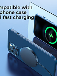 cheap -Joyroom Mag-Safe Wireless Magnetic Charger MagSlim 15W Mini Fast Charging Portable Wireless Charger for iPhone 12 Pro Max 11 Pro XR XS Max,Wireless Charger No Over Heat