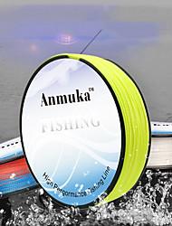 cheap -PE Braided Line / Dyneema / Superline 4 Strands Fishing Line 100M / 110 Yards PE 80LB 70LB 60LB