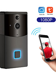 cheap -Tuya Smart Wifi Doorbell Rainproof Intercom PIR Motion Detector Night Vision Security Camera