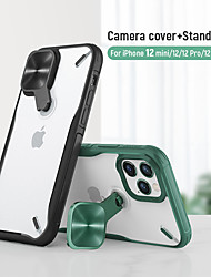 cheap -Nillkin Phone Case For iPhone 12 Pro Max iPhone 12 Mini Shockproof Case With Phone Stand Holder Clear Back Cover For iPhone 12