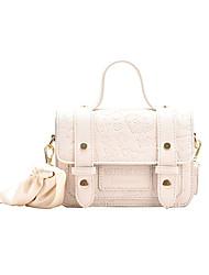 cheap -Women's Bags Top Handle Bag Daily Date Handbags White Black Green Coffee