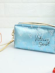 cheap -Women's Bags Polyester Cosmetic Bag Zipper Fashion Daily Handbags Chain Bag Blue Red Gold Silver