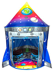 cheap -Rocket Ship Play Tent Playhouse | Unique Space and Planet Design for Indoor and Outdoor Fun, Imaginative Games & Gift | Foldable Playhouse Toy + Carry Bag for Boys & Girls
