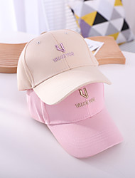 cheap -1pcs Kids Unisex Basic Birthday / Casual / Daily Wear Cartoon / Letter Stylish Cotton Hats & Caps White / Black / Yellow S