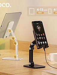 cheap -Hoco Holder Desk Mount Stand Holder Adjustable Stand Adjustable Stand Excelente Folding Desktop Holder for 4.7-13 Inches Mobile Phones and Tablet PC for Online Study Office Live Broadcast