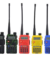 cheap -BAOFENG UV-5RA Walkie Talkie Intercom Handheld / Digital Voice Prompt / Dual Display 1.5KM-3KM 1.5KM-3KM 128 1800 mAh 5W Two Way Radio / 136-174MHz / 400-520MHz /Dual-Band Transceiver