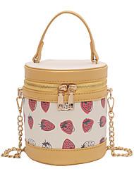cheap -Women's Bags Polyester Crossbody Bag Chain Daily 2021 MessengerBag Yellow Orange Green Beige