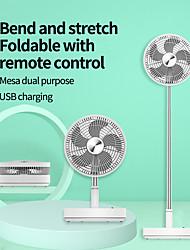 cheap -Telescopic Folding 7200mA-hour Electric Fan Mute USB Charging Mini-portable Multi-function Electric Fan For Home Office