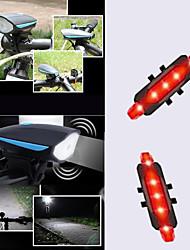 cheap -LED Bike Light Front Bike Light Tail Light Bike Horn Light LED Bicycle Cycling Waterproof Portable USB Charging Output LED Li-polymer 1200 lm Built-in Li-Battery Powered Everyday Use Cycling / Bike