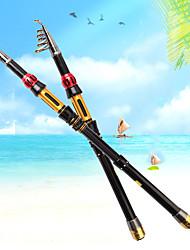 cheap -Fishing Rod Telescopic Rod 100/120/150/170/190/210/230 cm Carbon Portable Lightweight Sea Fishing