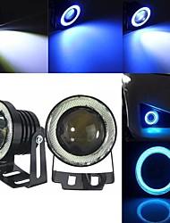 cheap -2pcs Car LED Fog Lights Light Bulbs 3000 lm DOB 30 W 2 For universal All Models All years
