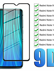 cheap -1/2PCS 9D Tempered Glass For Xiaomi Redmi Note 10 Note 10S Glass Screen Protector For Redmi Note 10 Pro Max Note 9 Pro Note 10 5G Note 8T Note 7 Pro Glass