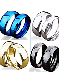 cheap -band ring couple rings stainless steel our love pure as the sea noble ocean blue couple rings wedding band ring