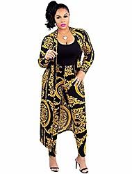 cheap -Women's Casual 2021 Golden Screen Color Yellow stripes Pattern