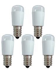 cheap -5pcs 1 W LED Globe Bulbs 50 lm E14 6 LED Beads SMD 3014 Decorative White 180-240 V