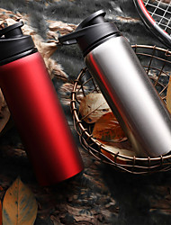 cheap -Portable Water Filters & Purifiers Kettle Sports Water Bottle Waterproof Fabric Stainless steel Alloy Portable Insulated Durable for Camping Traveling Backcountry Black Red Blue Silver
