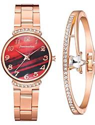 cheap -Women's Steel Band Watches Analog - Digital Quartz Stylish Minimalist Diamond