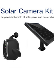 cheap -Y6 Multi  Color Solar IP Camera Solar Panel Powered HD Wifi Free Smart Home Surveillance camera outdoor waterproof dwaterproof water