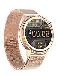 cheap -F81 Smartwatch for Android iOS Samsung Apple Xiaomi Bluetooth 1.3 inch Screen Size IP68 Waterproof Level Waterproof Touch Screen Heart Rate Monitor Blood Pressure Measurement Sports Pedometer Call