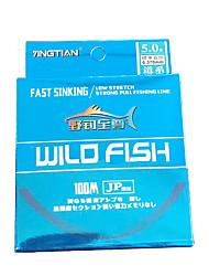 cheap -Monofilament Abrasion Resistant Fishing Line 100M / 110 Yards White, Blue