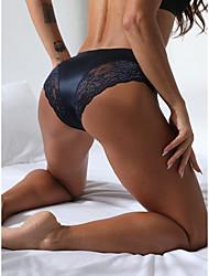 cheap -Women Invisible Seamless Bikini Lace Panties