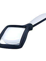 cheap -Magnifier Magnifying Glass Set Folding with Lighting Function Illuminated LED 3 Reading Inspection Macular Degeneration ABS+PC Kid's Adults' Seniors