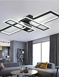 cheap -90 cm LED Ceiling Light Modern Nordic Includes Dimmable Version Square Design Geometric Shapes Flush Mount Lights Aluminium Alloy Artistic Style Stylish Painted Finishes Artistic LED 220-240V