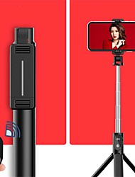 cheap -Selfie Stick Bluetooth Extendable Max Length 67 cm For Universal Android / iOS Universal