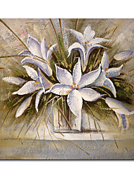 cheap -Mintura Large Size Hand Painted Flowers Oil Painting on Canvas Modern Abstract Art Wall Pictures For Home Decoration (Rolled Canvas without Frame)